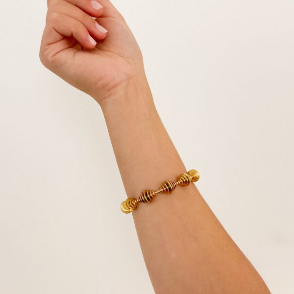 Armband in Gelbgold