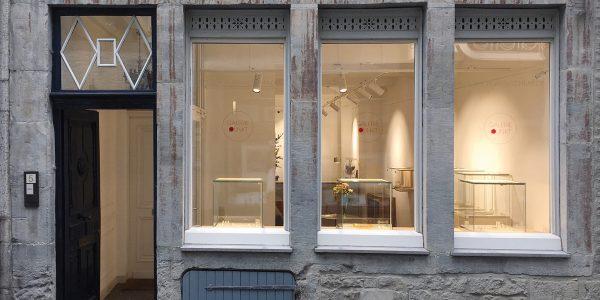 Galerie Punkt in der Annastraße 5 in Aachen